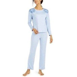 NEW CHARTER CLUB Floral Embroider Pajama Set #M07